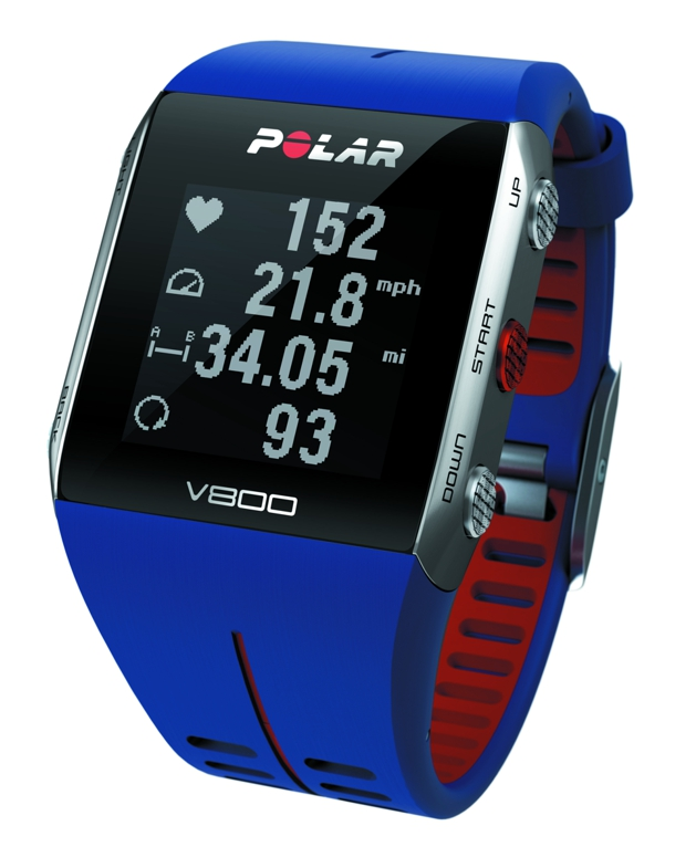 POLAR V800 modrý