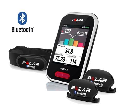 POLAR V650 HR+ cyklo senzory