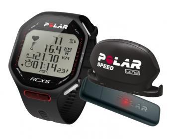 POLAR RCX5 bike + datalink(černá)