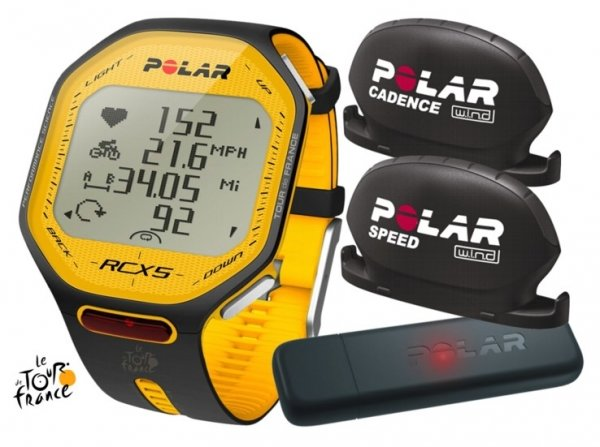 POLAR RCX5 BIKE Tour de France