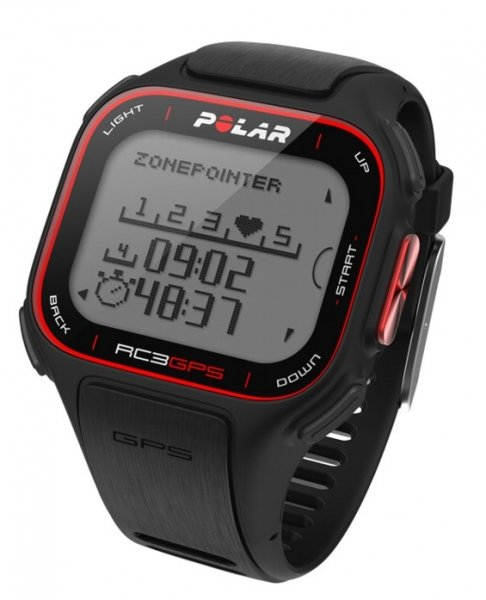 POLAR RC3 GPS HR černé