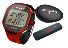 POLAR RCX5 Run + datalink červený