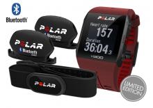 POLAR V800 HR červený COMBO